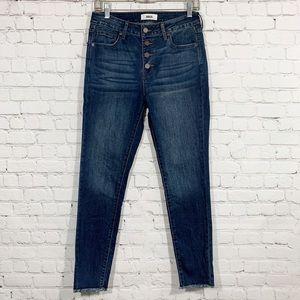 JBD Just Black Denim Jeans Skinny Hi rise 28